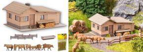 NOCH 63616 Themen-Set Alm mit Tränke | Laser-Cut Bausatz Spur N kaufen