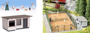 NOCH 65615 Themen-Set Tennisplatz LaserCut Bausatz Spur H0 kaufen