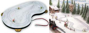 NOCH 66832 micro-motion Langlauf-Loipe mit Apres-Ski Hütte | Komplett-Set Spur H0 kaufen