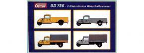 NPE 88521 4-tlg. Set Goliath GD 750 Deutsche Bundespost | Modellautos 1:87 kaufen