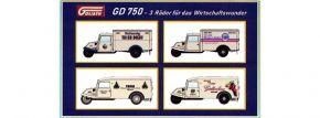 NPE 88523 4-tlg. Set Goliath GD 750 Wirtschaftswunder | Modellautos 1:87 kaufen