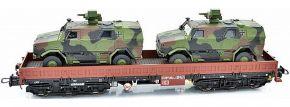 NPE 44133 Schwerlastwagen Samms-u 454 mit ATF Dingo DB AG | AC | Spur H0 kaufen