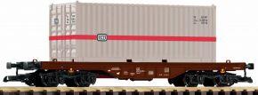 PIKO 37747 Flachwagen mit 20 ft. Container DB | Spur G kaufen