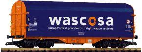 PIKO 37748 Schiebeplanenwagen Shimmns-tu 718 Wascosa | Spur G kaufen