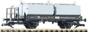 ausverkauft   PIKO 37771 Kalkkübelwagen DR   Ep. III   Spur G