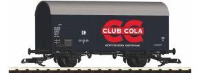 PIKO 37959 Gedeckter Güterwagen Club Cola DR | Spur G kaufen
