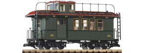 PIKO 38634 Güterzugbegleitwagen m. Schlusslicht WP/YR | Spur G kaufen