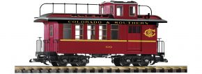 PIKO 38646 Güterzugbegleitwagen mit Schlusslichtern C&S | Spur G kaufen