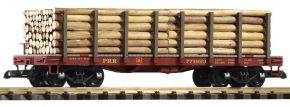 PIKO 38720 Rungenwagen mit Holzladung | PRR | Spur G kaufen