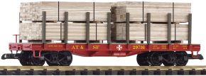 PIKO 38740 Rungenwagen mit Ladung SF | Spur G kaufen