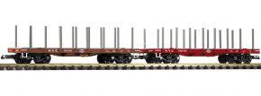 PIKO 38742 Rungenwagen NYC 2er Pack | Spur G kaufen