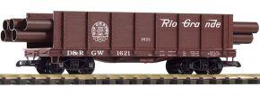 PIKO 38749 Hochbordwagen D&RGW mit Ladung | Spur G kaufen