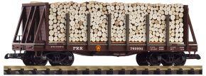PIKO 38755 Rungenwagen PRR mit Ladung   Spur G kaufen