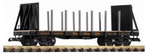 PIKO 38763 Rungenwagen D&RGW mit Stirnwänden | Spur G kaufen