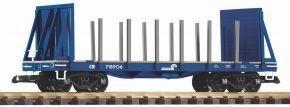 PIKO 38766 Rungenwagen D&RGW mit Stirnwänden   Spur G kaufen