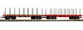 PIKO 38773 2-tlg. Set Rungenwagen SF | Spur G kaufen
