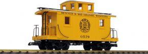 PIKO 38833 Güterwagen gelb | D+RGW | Spur G kaufen