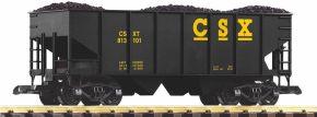 PIKO 38900 Schüttgutwagen CSX mit Kohleladung | Spur G kaufen
