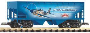PIKO 38902 Schüttgutwagen Warbirds P-51 NYC | Spur G kaufen