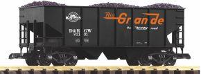 PIKO 38917 Schüttgutwagen mit Kohleladung D&RGW | Spur G kaufen