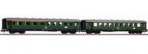 PIKO 40621 2-tlg. Set Schürzeneilzugwagen 1./2.Kl. DB | Spur N kaufen