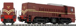 PIKO 52694 Diesellok Rh 2200 rotbraun NS   DCC-Sound   Spur H0 kaufen