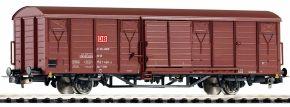 PIKO 54449 Ged. Güterwagen Gbs258 DB AG   DC   Spur H0 kaufen