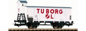 PIKO 54619 Ged. Güterwagen G02 Tuborg DSB | DC | Spur H0 kaufen
