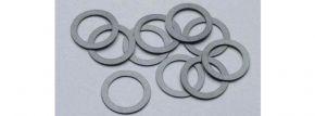 PIKO 56026 Haftreifen 10 mm | 1 Packung mit 10 Stück | Spur H0