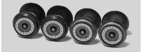 PIKO 56184 Radsätze für Diesel Vectron | 4 Stück | DC | Spur H0 kaufen