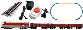PIKO 57138 Start-Set Diesellok BR 119 mit Güterzug DR | DC analog | Spur H0 kaufen
