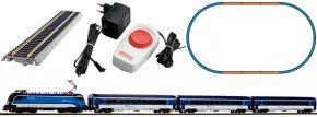 PIKO 57179 Start-Set Taurus mit Personenzug Rail Jet CD | DC analog | Spur H0 kaufen