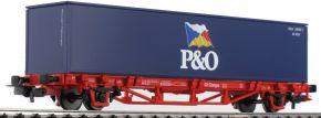PIKO 57706 Containerwagen P&O DB Spur H0 kaufen