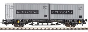 PIKO 57747 Containertragwagen Lgs579 DR Spur H0 kaufen