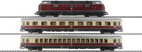 PIKO 58142 Zug-Set Diesellok BR 221 TEE Merkur DB | DCC-Sound | Spur H0 kaufen