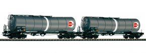 PIKO 58228 2-tlg. Set Knickkesselwagen OEVA ÖBB | DC | Spur H0 kaufen