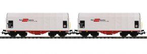 PIKO 58365 2-tlg. Set Schiebeplanenwagen | Rail Cargo Austria | DC | Spur H0 kaufen