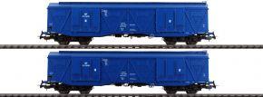 PIKO 58375 2er Set Großraumgüterwagen 401Ka PKP Cargo | Spur H0 kaufen