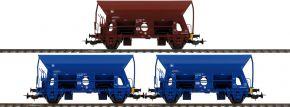 PIKO 58377 3er Set Schüttgutwagen Fc PRESS | Spur H0 kaufen