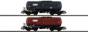 PIKO 58384 2er Set Kesselwagen 406R GATX PKP | Spur H0 kaufen
