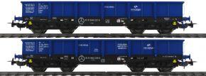 PIKO 58385 2er Set Niederbordwagen 401Z PKP | Spur H0 kaufen