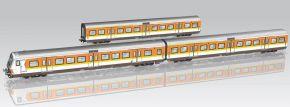 PIKO 58388 3er Set x-Wagen S-Bahn Nürnberg DB | Spur H0 kaufen