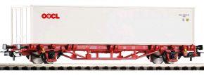 PIKO 58754 Containertragwagen Lgs579 NS | DC | Spur H0 kaufen