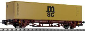 PIKO 58773 Containertragwagen mit 1x40 Container FS | DC | Spur H0 kaufen