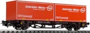 PIKO 58779 Containerwagen Gbr. Weiss ÖBB | DC | Spur H0 kaufen