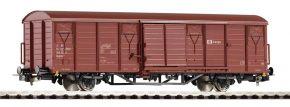 PIKO 58913 Gedeckter Güterwagen Gbgkks   CD-Cargo   DC   Spur H0 kaufen