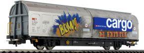 PIKO 58985 Schiebewandwagen Hbbillnss SBB mit Graffiti | DC | Spur H0 kaufen