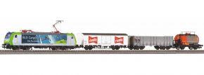 PIKO 59028 SmartControl Startset BLS E-Lok Re484 und 3 Güterwagen VI | DC digital | Spur H0 kaufen