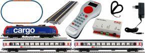 PIKO 59029 SmartControl light Startset SBB E-Lok Re484 EC Personenzug | DCC | Spur H0 kaufen
