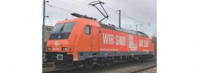 PIKO 59155 E-Lok BR 185 Hamburg Rail Service VI | DC analog | Spur H0 kaufen